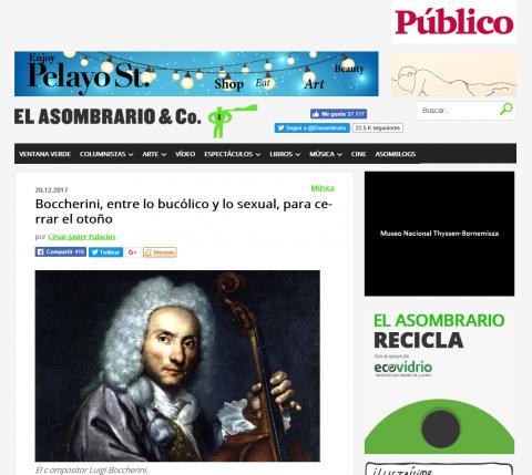Ensemble Triflolium en El Asombrario de Público