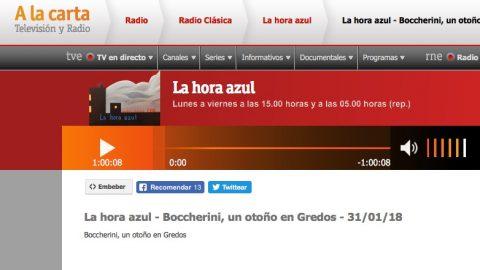 La hora azul en Radio Clásica